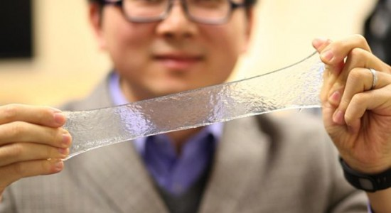 Strechable-bandage by MIT researcher