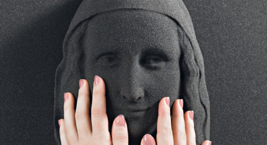 sculpture of the Mona Lisa