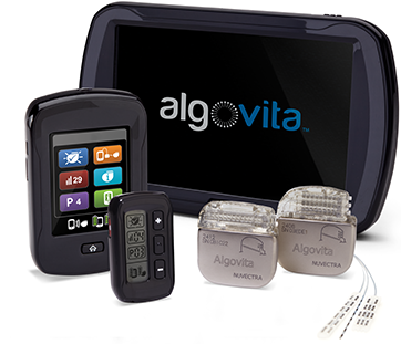 Algovita Spinal Cord Stimulation System for Pain Therapy