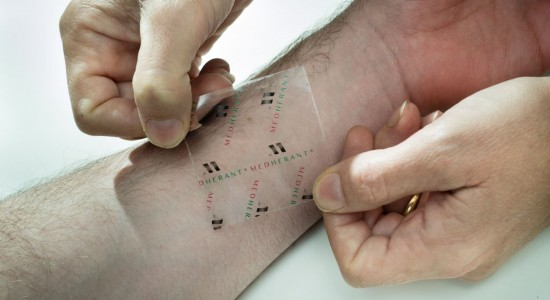A medicated skin patch - university of Warwick - Medherant