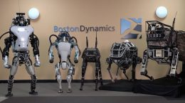 ربات‌های boston dynamics